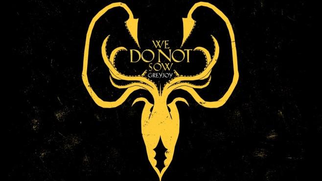 Game of Thrones Wappen Greyjoy ©HBO
