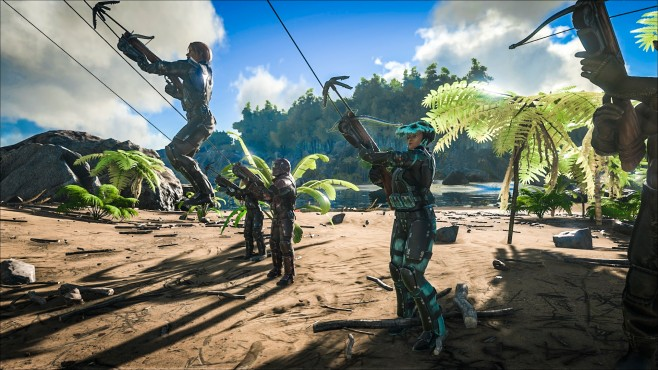 Ark – Survival of the Fittest©Studio Wildcard/Playstation Europe