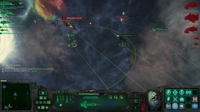 Battlefleet Gothic – Armada: Nebel©Focus Home Interactive
