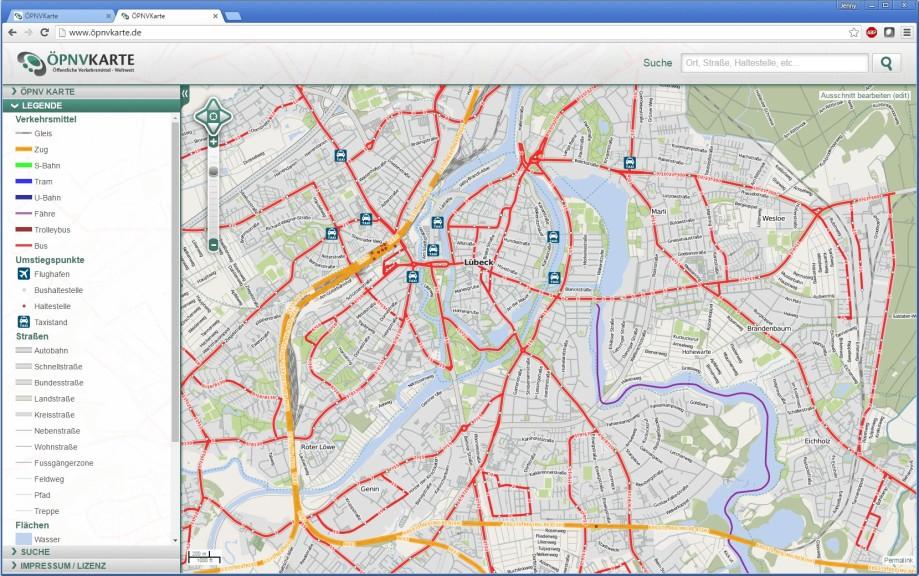 öpnv karte ÖPNV Karte   Download   COMPUTER BILD