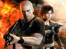 """Agent Sam Fisher muss in """"Tom Clancy's Splinter Cell – Double Agent"""" gegen üble Terroristen zu Felde ziehen, wobei ihm Attentäterin Erica gut gefällt."""
