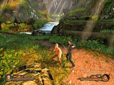 """Als Bauernjunge """"Eragon"""" reiten Sie in dem gleichnamigen Spiel einen Drachen und kämpfen gegen einen fiesen Herrscher."""