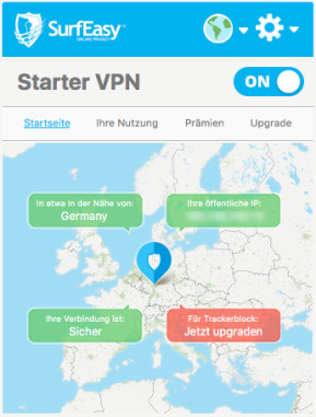 SurfEasy VPN (Mac)