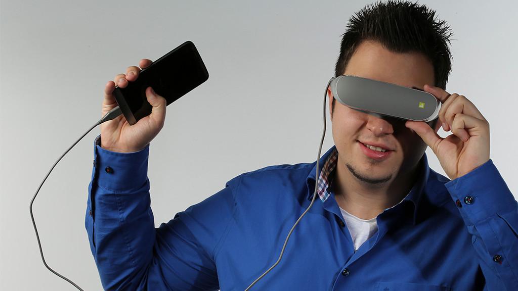 LG 360 VR im Praxis-Test: VR-Brille mit Schmerz-Garantie XXX©COMPUTER BILD, LG