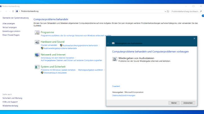 COMPUTER BILD-Windows-Troubleshooter ©COMPUTER BILD