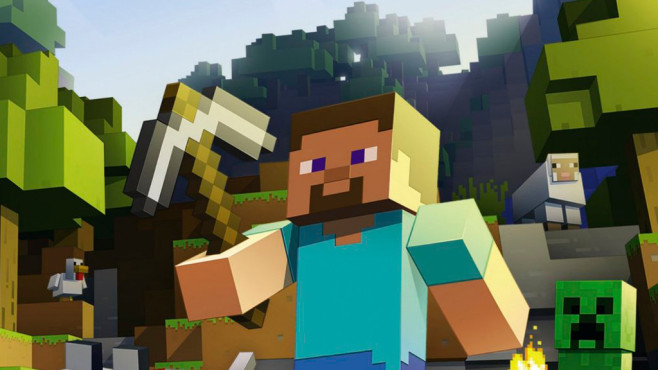 Minecraft Für Gear VR Das Habe Ich Gebaut COMPUTER BILD SPIELE - Minecraft spiele anschauen