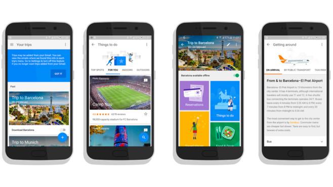 Google Trips App©Google
