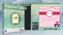 GutscheinMaker – Kostenlose Vollversion: Gutscheinkarten basteln©COMPUTER BILD