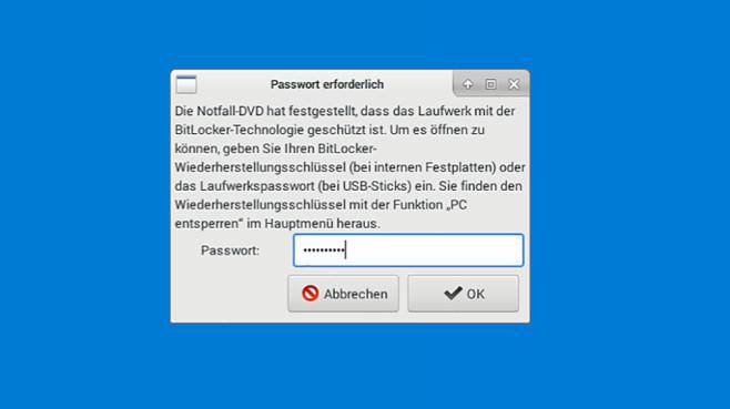 BitLocker-Unterstützung©COMPUTER BILD