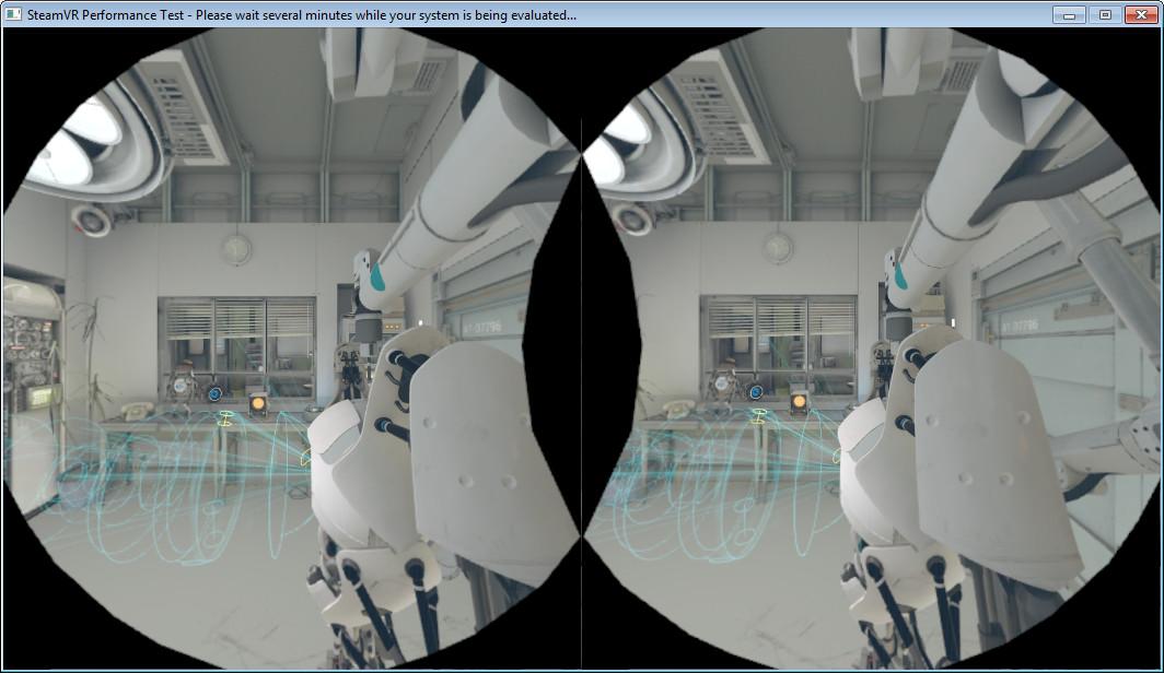 Screenshot 1 - SteamVR Performance Test