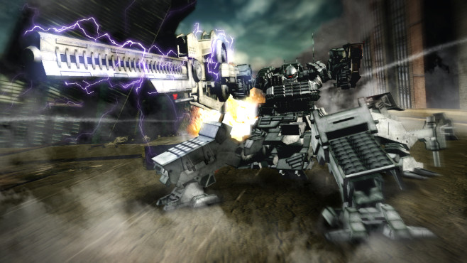 Armored Core Verdict Day © Namco Bandai