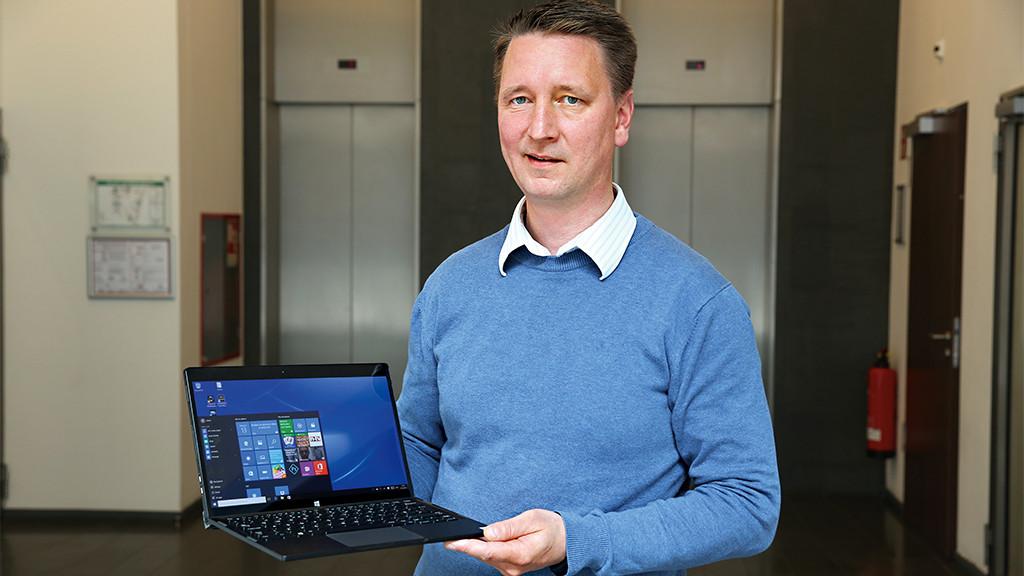 Dell XPS 12 (9250)©COMPUTER BILD
