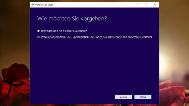 Windows 10 neu installieren: Media Creation Tool ©COMPUTER BILD