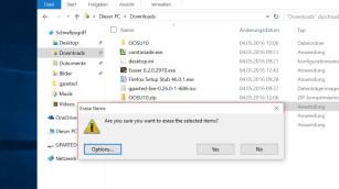 Eraser löscht Daten sicher©COMPUTER BILD