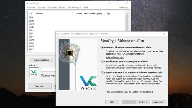 VeraCrypt verschlüsselt Dateien©COMPUTER BILD
