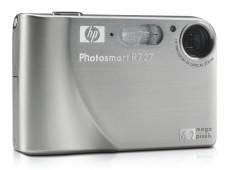 """Dank des eingebauten Speichers der """"HP?Photosmart R727"""" können Sie sofort mit dem Fotografieren loslegen.©HP"""