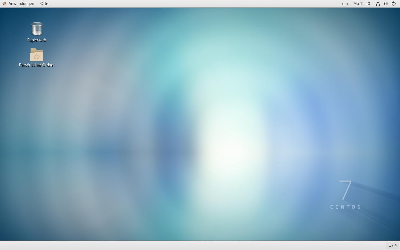 Screenshot 1 - CentOS