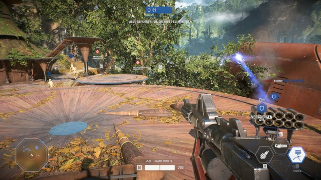 Star Wars – Battlefront 2 © EA