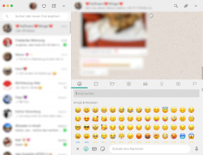 WhatsApp (Desktop-App) (Mac)