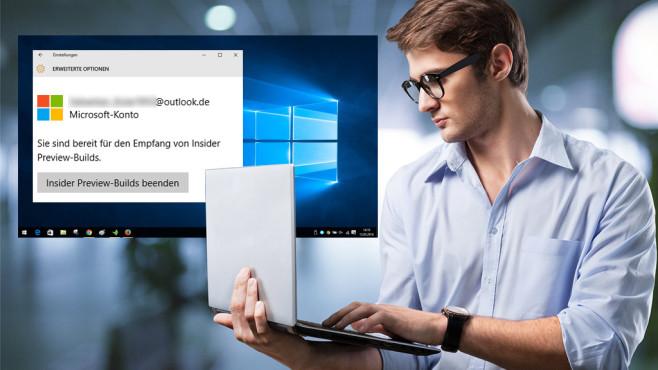 """Windows Insider werden: So testen Sie neueste Windows-10-Versionen Mehr als Freude am Experimentieren braucht es nicht, um sich zum """"Windows-Insider"""" aufzuwerten. Mit wenigen Schritten probieren Sie so die jüngsten Microsoft-Innovationen aus.©Microsoft, BillionPhotos.com-Fotolia.com"""