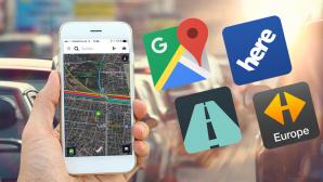 Die besten Stau-Apps©NAVIGON, Google, StauMobil, kichigin19-Fotolia.com, Vividz Foto – Fotolia.com