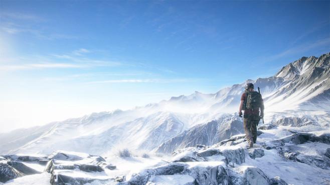 Ghost Reckon –  Wildlands: Berge©Ubisoft