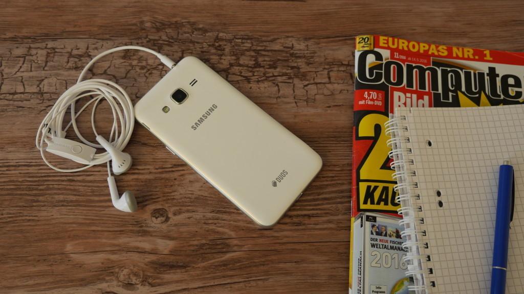 Samsung Galaxy J3 (2016) Duos im Test: Günstiges 5-Zoll-Android mit Dual SIM©COMPUTER BILD