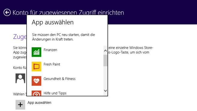 Windows 8.1: PC-Einstellungen bemühen©COMPUTER BILD
