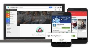 Google Play Store Familienmediathek©Google