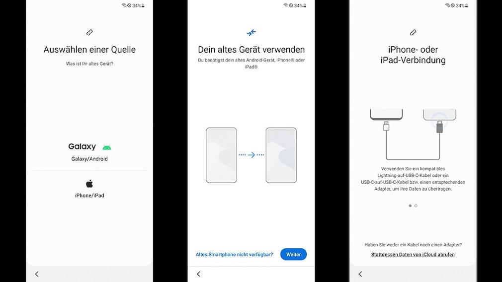 WhatsApp von iOS auf Android: Samsung Smart Switch