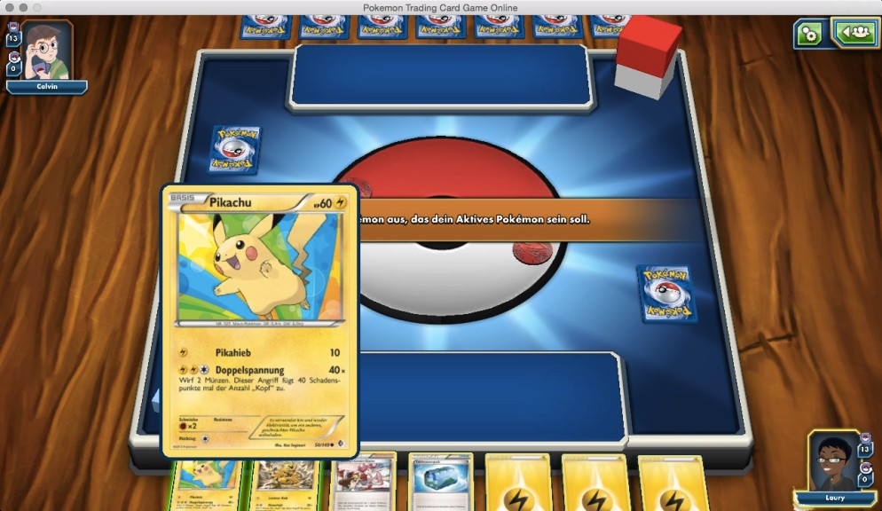 Screenshot 1 - Pokémon Trading Card Game Online (Mac)