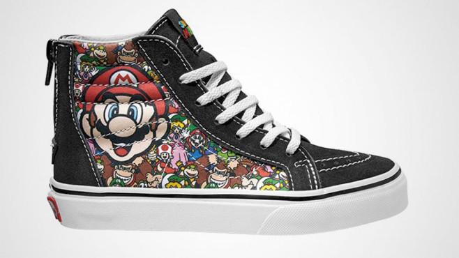 Vans: Nintendo Sneaker©Nintendo / Vans