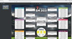 EM 2021: Spielplan als PDF zum Ausdrucken