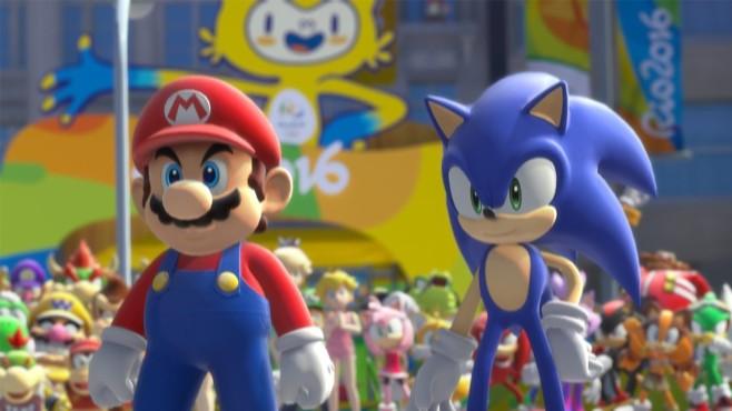 Mario & Sonic bei den Olympischen Spielen Rio 2016 ©Nintendo