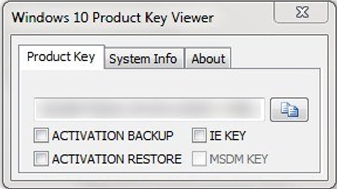 Platz 44: Windows Product Key Viewer (neu) © COMPUTER BILD