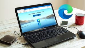 Microsoft Chromium Edge auf Laptop©Cobi Archiv
