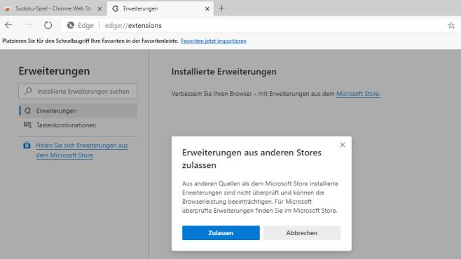 Chrome-Add-ons installieren ©COMPUTER BILD