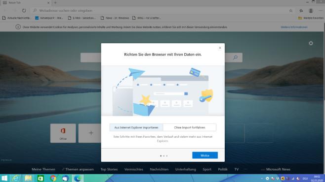 Edge unter Windows 8.1 installieren ©COMPUTER BILD