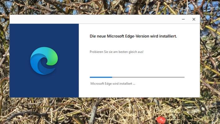 Neuen Edge-Browser installieren
