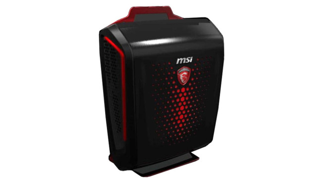 MSI Backpack PC©MSI