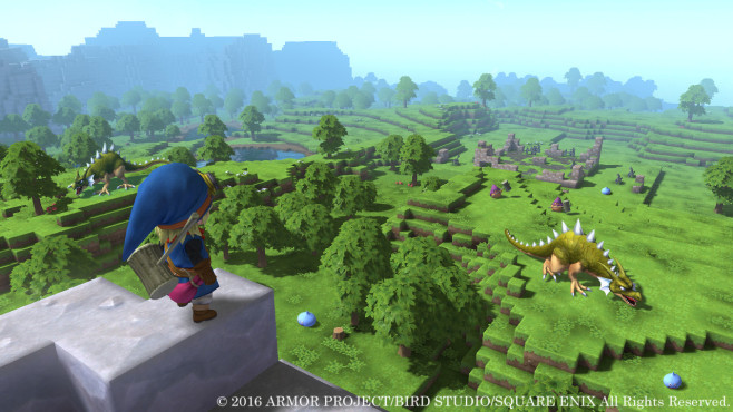 Dragon Quest Builders - Stadt © Square Enix