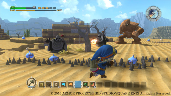 Dragon Quest Builders - Verteidigung © Square Enix