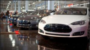 Tesla-Elektrofahrzeuge©Tesla Motors