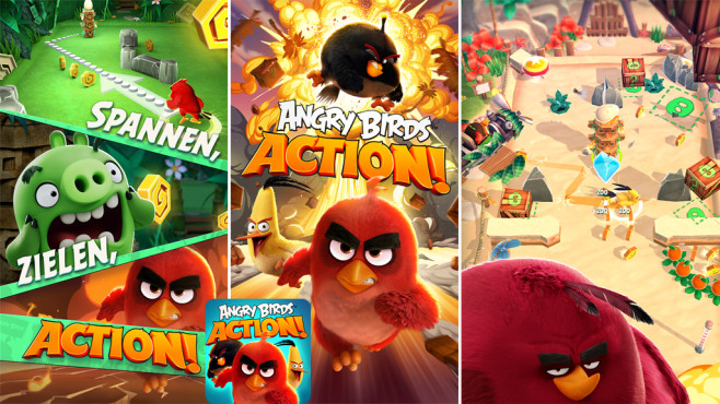 Angry Birds Action! © Rovio Entertainment