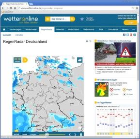 RegenRadar Deutschland (WetterOnline)