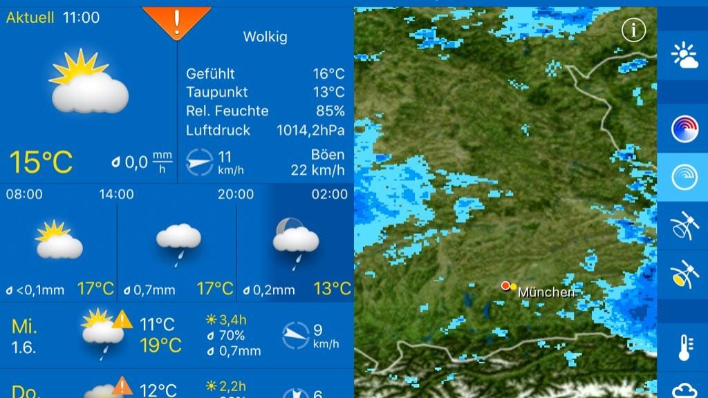 T-Online Regenradar Deutschland