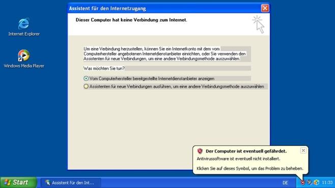 Blindes Vertrauen auf Virtualisierung wie den XP-Modus ©COMPUTER BILD