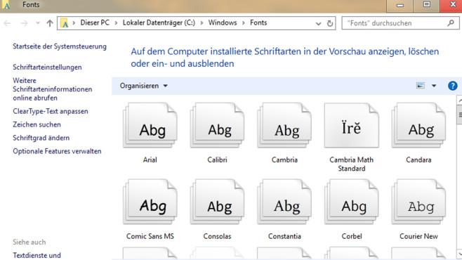 Unzählige Schriftarten installieren ©COMPUTER BILD