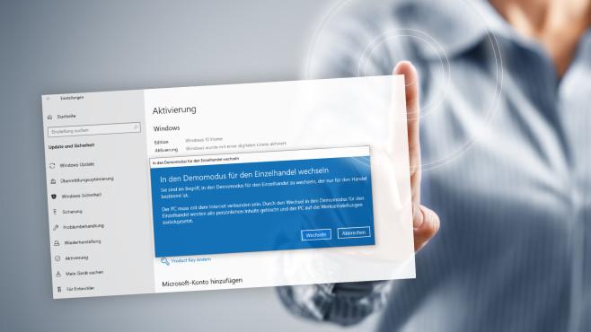 Windows 10 in den Demo-Modus schalten ©COMPUTER BILD