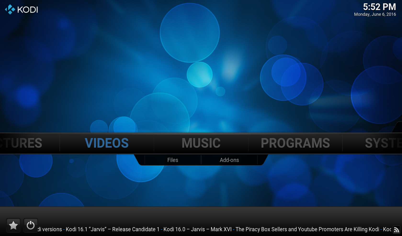 Screenshot 1 - OpenELEC